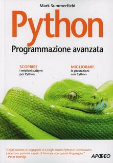 Python. Programmazione avanzata - Mark Summerfield - copertina