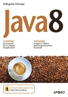 Java 8 - Pellegrino Principe - copertina