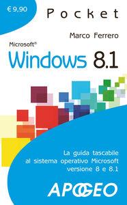 Foto Cover di Windows 8.1, Libro di Marco Ferrero, edito da Apogeo