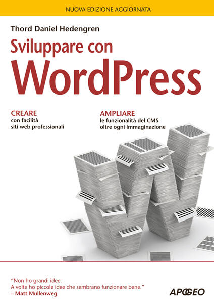 Sviluppare con WordPress - Thord Daniel Hedengren - copertina