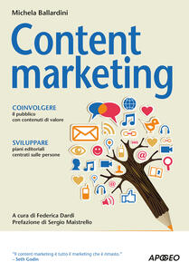 Content marketing - Michela Ballardini - copertina