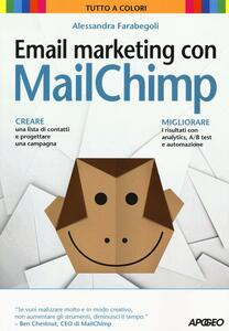 Email marketing con MailChimp - Alessandra Farabegoli - copertina