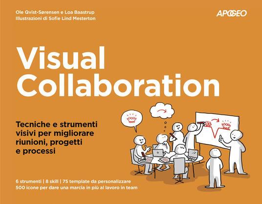 Visual collaboration. Tecniche e strumenti visivi per migliorare riunioni, progetti e processi - Ole Qvist-Sorensen,Loa Baastrup - copertina