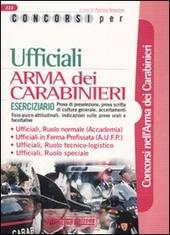 Concorsi per ufficiali. Arma dei carabinieri. Eserciziario