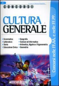 Cultura generale - copertina