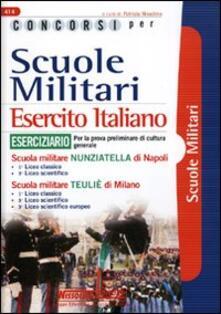 Listadelpopolo.it Concorsi per scuole militari. Esercito italiano. Eserciziario Image