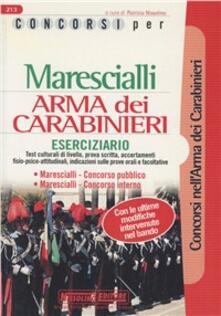 Radiosenisenews.it Concorsi per marescialli. Arma dei carabinieri. Concorso pubblico. Concorso interno Image
