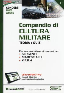 Compendio di cultura militare. Teoria e quiz. Con aggiornamento online.pdf