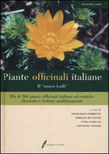 Piante officinali italiane. «Il nuovo Lodi» - Giuseppe Lodi - copertina