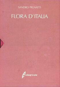 Flora d'Italia - Sandro Pignatti - copertina