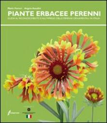 Steamcon.it Le piante erbacee perenni. Guida al riconoscimento e all'impiego delleperenni ornamentali in Italia Image