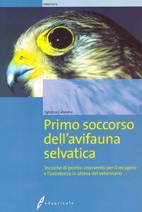 Primo soccorso dell'avifauna selvatica - Sabrina Calandra - copertina