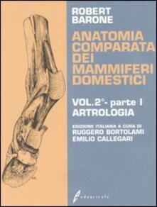 Lpgcsostenible.es Anatomia comparata dei mammiferi domestici. Vol. 2\1: Artrologia. Image