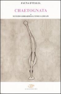 Chaetognatha. Vol. 39 - Elvezio Ghirardelli,Tomo Gamulin - copertina