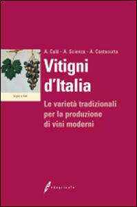 Vitigni d'Italia. Le varietà tradizionali per la produzione dei vini moderni - Antonio Calò,Attilio Scienza,Angelo Costacurta - copertina