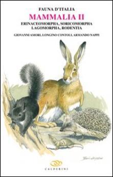 Premioquesti.it Mammalia II. Erinaceomorpha, soricomorpha, lagomorpha, rodentia Image