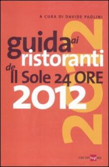 Winniearcher.com Guida ai ristoranti de Il Sole 24 Ore 2012 Image