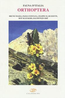 Premioquesti.it Orthoptera. Con DVD Image