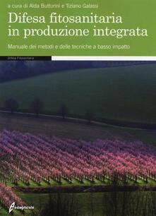 Secchiarapita.it Difesa fitosanitaria in produzione integrata. Manuale dei metodi e delle tecniche a basso impatto Image