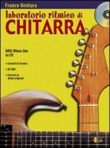 Milanospringparade.it Laboratorio ritmico di chitarra. Con CD Image