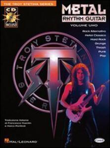 Metal rhythm guitar. Con CD. Vol. 1