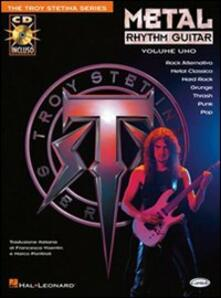 Milanospringparade.it Metal rhythm guitar. Con CD. Vol. 1 Image