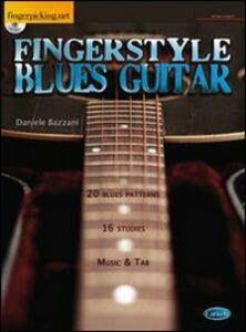 Fingerstyle blues guitar. Con CD
