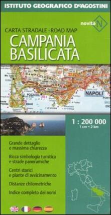Chievoveronavalpo.it Campania e Basilicata 1:200 000. Ediz. multilingue Image