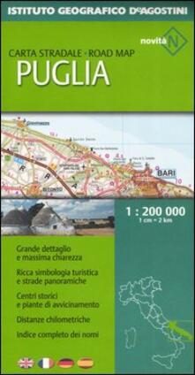 Nicocaradonna.it Puglia 1:200 000. Ediz. multilingue Image