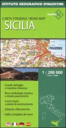 Camfeed.it Sicilia 1:200 000. Ediz. multilingue Image