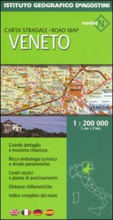 3tsportingclub.it Veneto 1:200 000. Ediz. multilingue Image