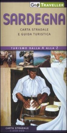 Premioquesti.it Sardegna. Carta stradale e guida turistica. 1:200.000 Image