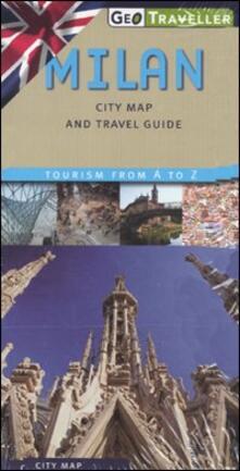 Antondemarirreguera.es Milan. City map and travel guide. Con pianta 1:12.000 Image