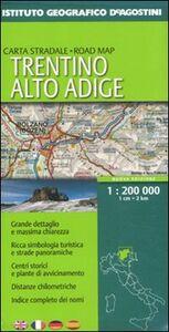 Foto Cover di Trentino Alto Adige 1:200.000. Ediz. multilingue, Libro di  edito da De Agostini