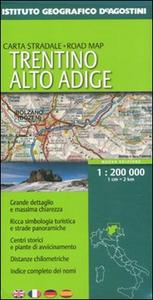Libro Trentino Alto Adige 1:200.000. Ediz. multilingue