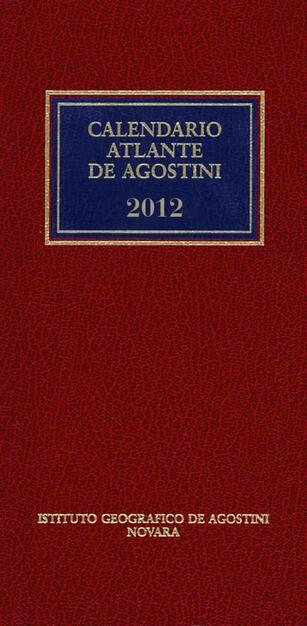 CALENDARIO ATLANTE DE AGOSTINI 2012   Aa. Vv.   Ebook   PDF con