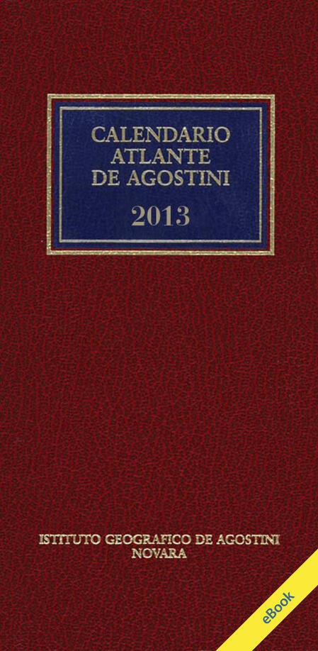 Calendario Atlante De Agostini 2013   Aa. Vv.   Ebook   PDF con