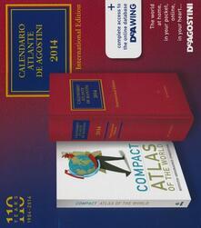 Equilibrifestival.it Calendario atlante De Agostini 2014-Atlante del mondo compact. International edition. Con aggiornamento online Image