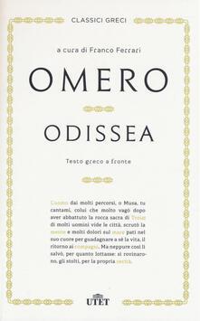 Grandtoureventi.it Odissea. Testo greco a fronte Image