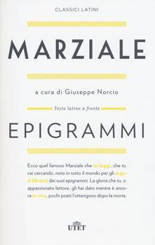 Amatigota.it Epigrammi. Testo latino a fronte. Con e-book Image