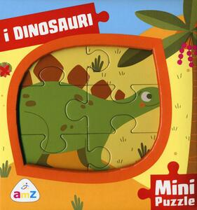 I dinosauri. Mini puzzle