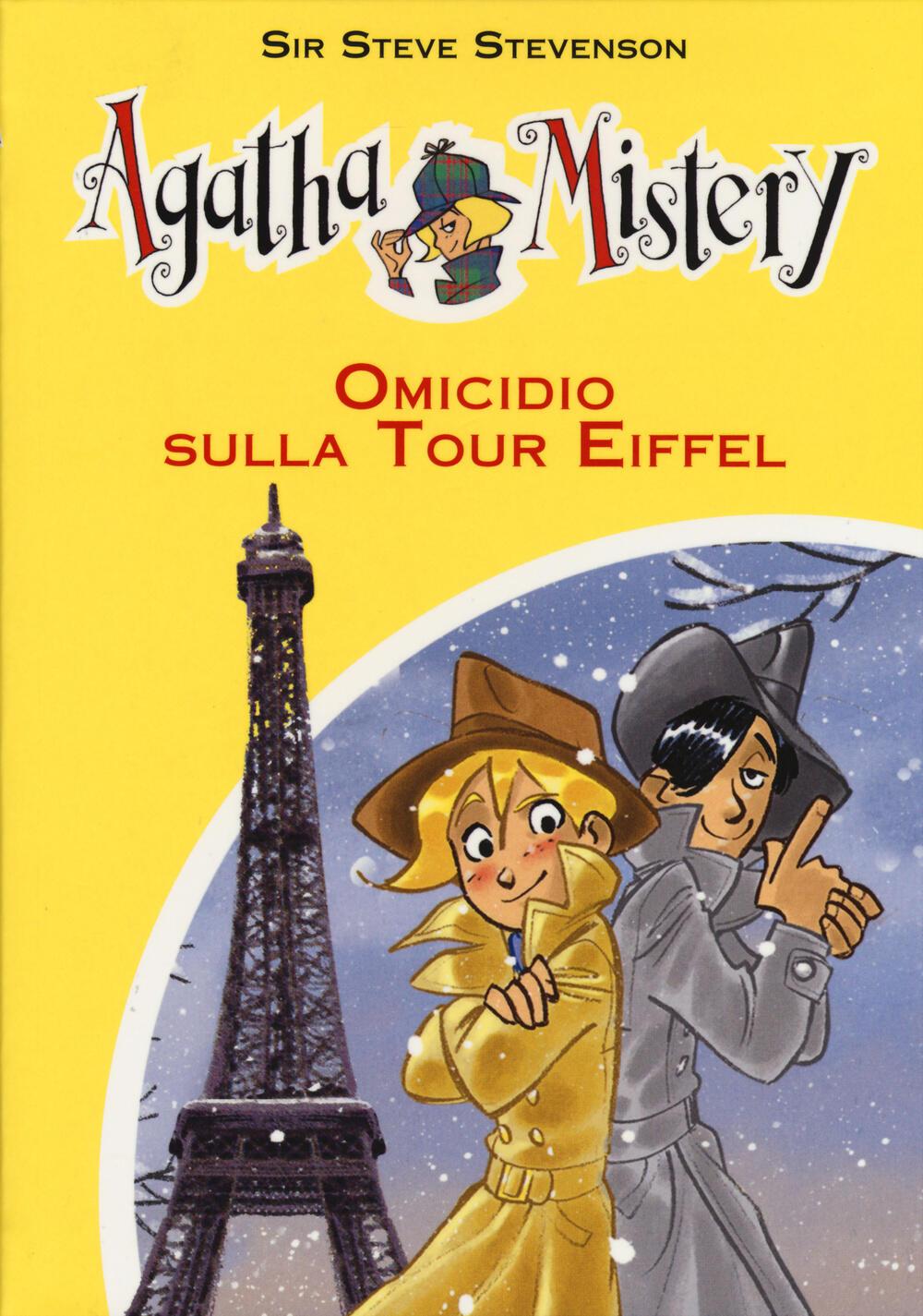 agatha mistery libri  Omicidio sulla tour Eiffel - Sir Steve Stevenson - Libro - De ...