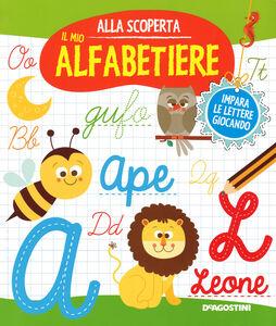 Foto Cover di Il mio alfabetiere, Libro di Monica Floreale, edito da De Agostini