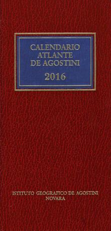 Squillogame.it Calendario atlante De Agostini 2016. Con aggiornamento online Image