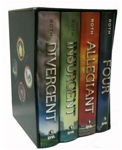 Divergent saga: Divergent-Insurgent-Allegiant-Four