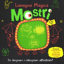 Camfeed.it Mostri. Lavagna magica. Ediz. illustrata. Con gadget Image