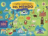 I I sette continenti del mondo. Ediz. illustrata - Harwood Jeremy - wuz.it