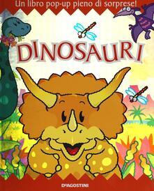 Rallydeicolliscaligeri.it Dinosauri. Libro pop-up Image