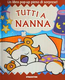 Squillogame.it Tutti a nanna. Libro pop-up. Ediz. illustrata Image