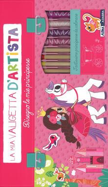 Tegliowinterrun.it Disegno le mie principesse. La mia valigetta d'artista. Ediz. a colori. Con gadget Image